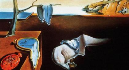 Salvador Dali ''The persistence of memory'' 1931